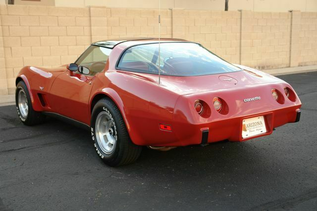 1979 Chevrolet Corvette (Red/Red)