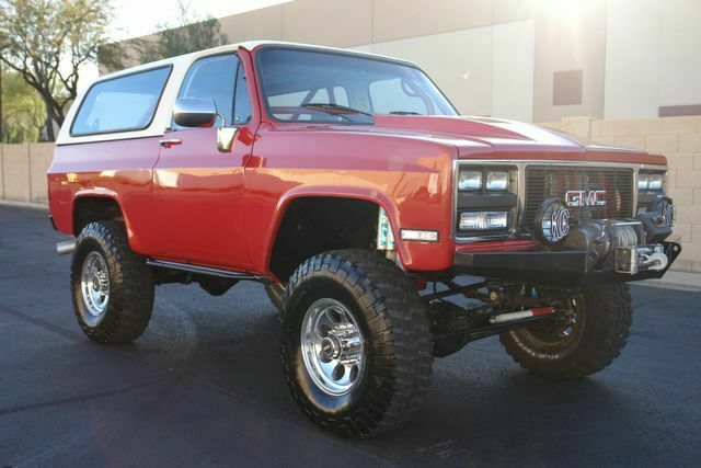 1973 Chevrolet Blazer (Red/Gray)