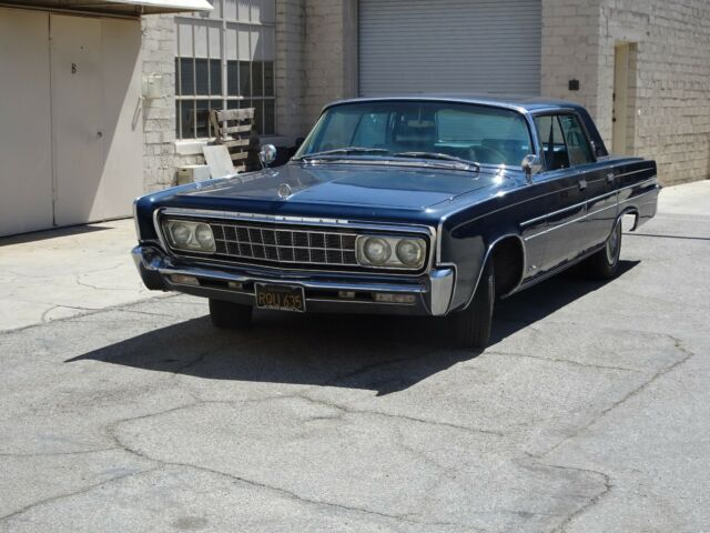 1966 Chrysler Imperial (Blue/Blue)