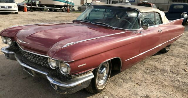 1960 Cadillac Series 62 (Red/Red)
