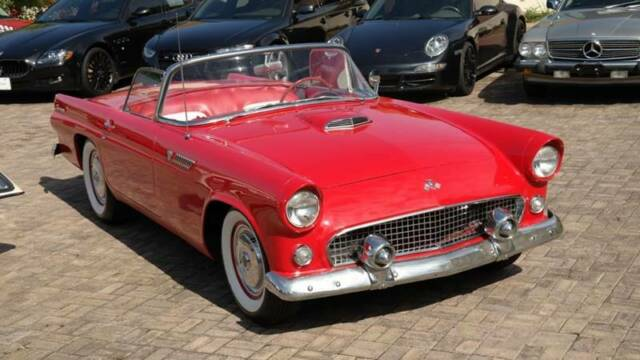 1955 Ford Thunderbird (Red/White)