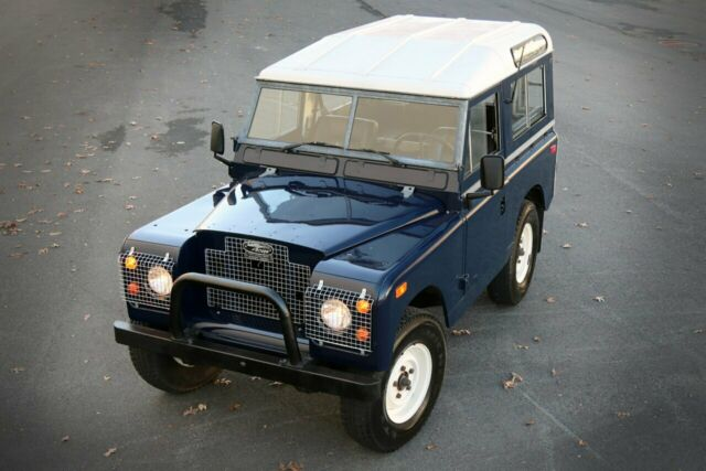 "1969 Land Rover Series II A 88"" (Black/Black)"