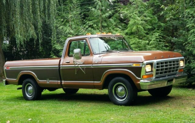 1978 Ford F-150 (Brown/Brown)