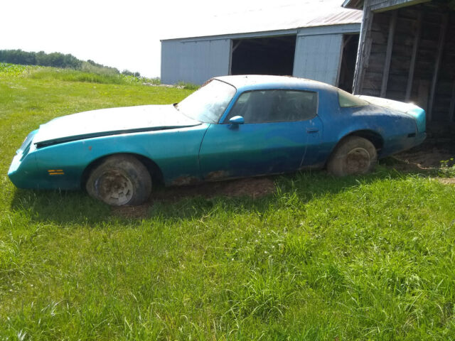 1979 Pontiac Firebird (Blue/Black)