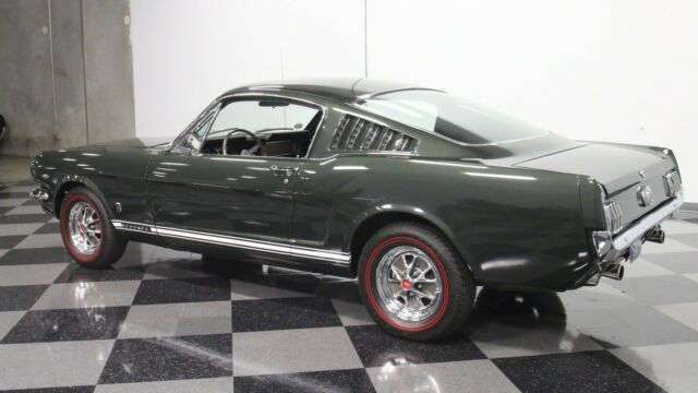 1966 Ford mustang (Green/Green)