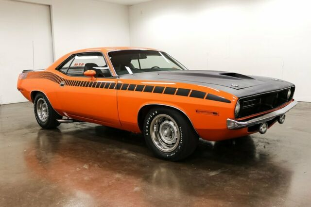 1970 Plymouth 'Cuda (Vitamin C/Black)