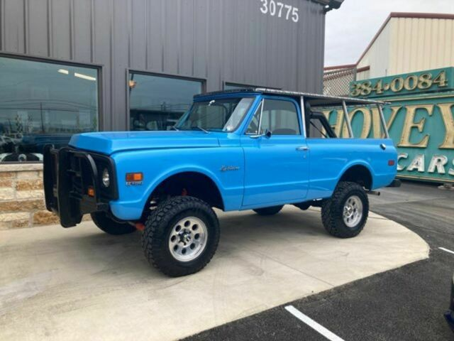 1972 Chevrolet Blazer (Blue/Black)