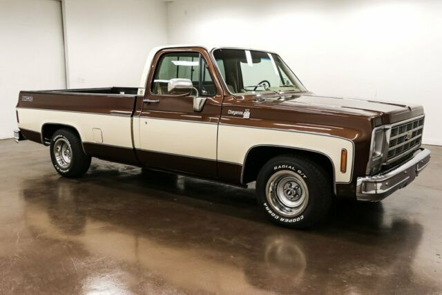 1979 Chevrolet C-10 (Brown/Tan)