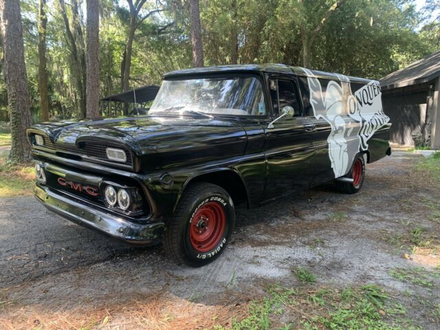 1960 GMC Panel Restomod (Black/Blue)