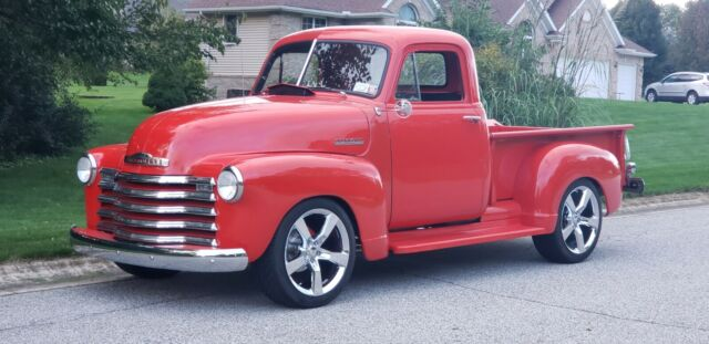 1950 Chevrolet 3100 (Red/Red)
