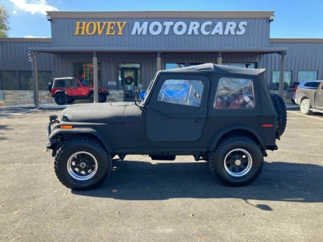 1979 Jeep CJ (Black/Black)