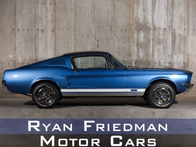 1967 Ford Mustang (Blue/Blue)