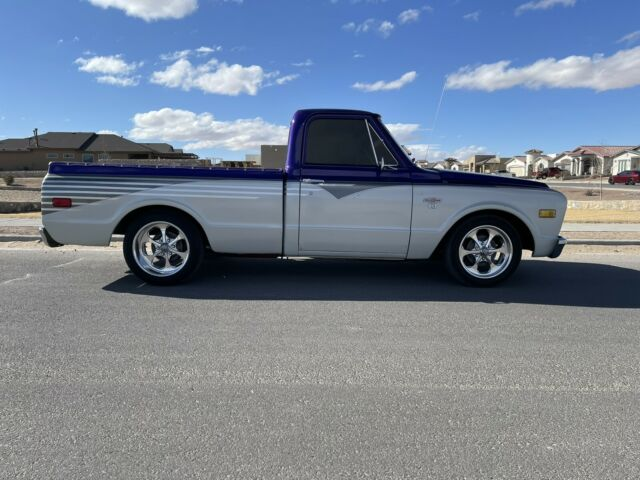 1972 Chevrolet C-10 (Purple/Brown)