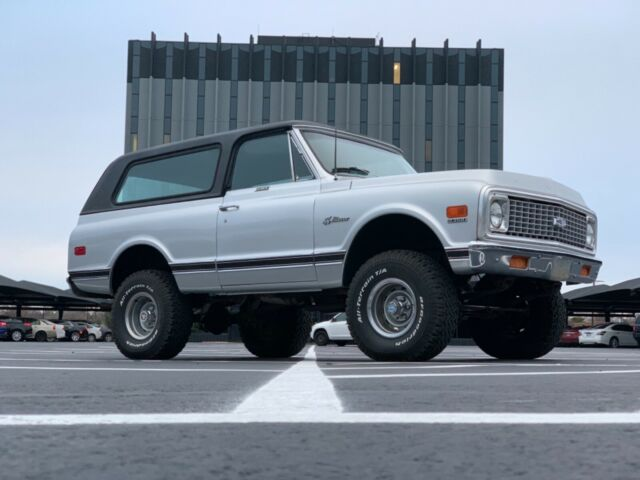 1972 Chevrolet Blazer (Grey/Black)