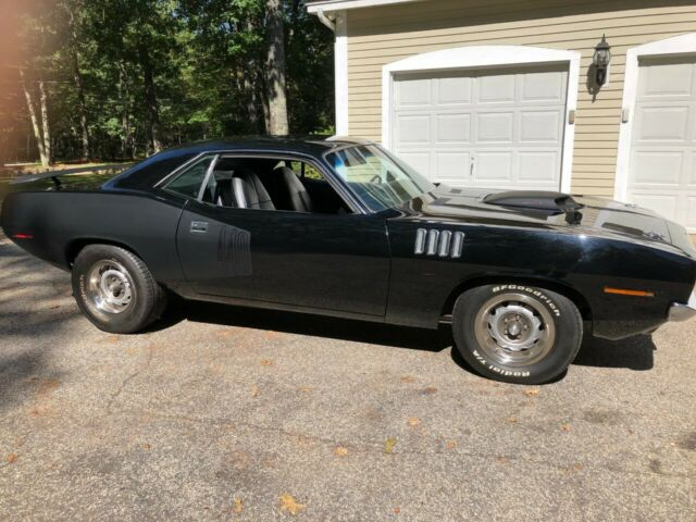 1971 Plymouth Barracuda (Black/Black)