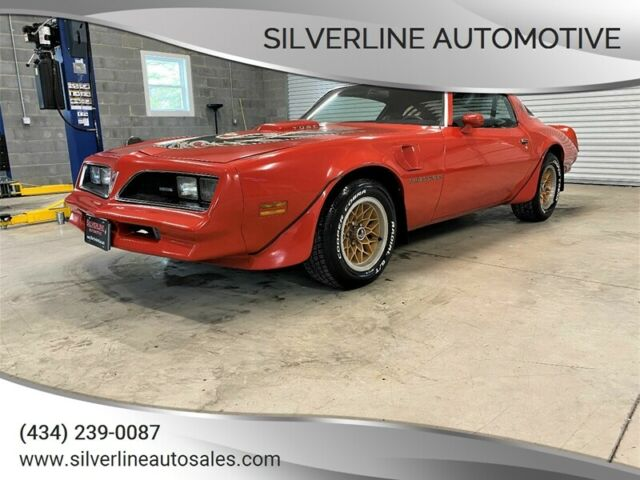 1978 Pontiac Firebird (Red/Black)