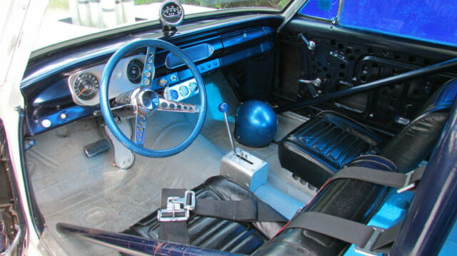 1965 Chevrolet Nova (White/Blue)