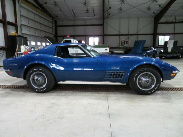 1971 Chevrolet Corvette (Blue/Blue)