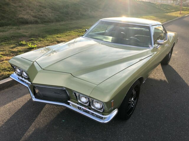 1971 Buick Riviera (Green Gold Metallic/Avocado & Gold)