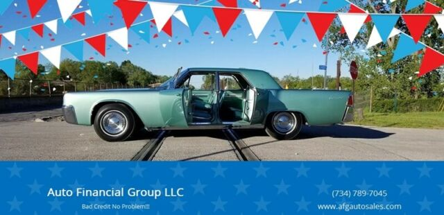 1961 Lincoln Continental (Turquoise/Turquoise)