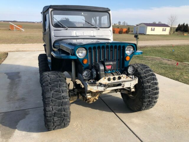 1948 Jeep CJ (Teal/Black)