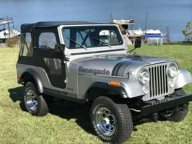 1979 Jeep CJ (Silver/Black)