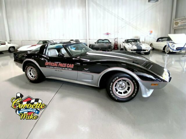1978 Chevrolet Corvette (Black/Silver)