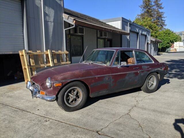 1972 MG MGB (Blue/Black)