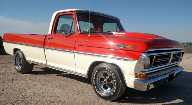 1972 Ford F-100 (Orange/Black)