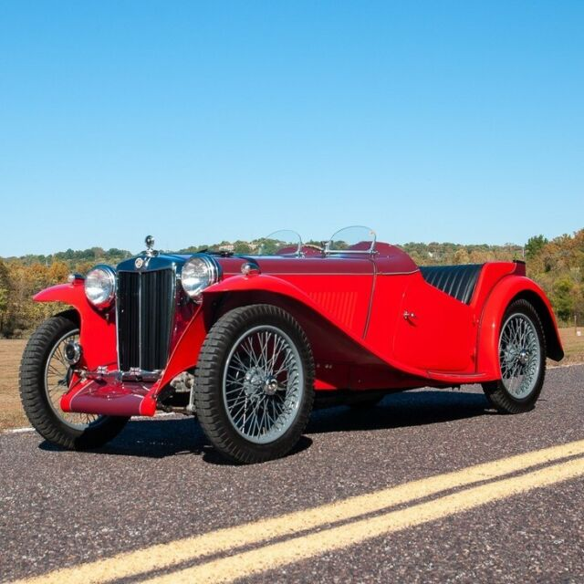 1938 MG T-Series (Red/Black)