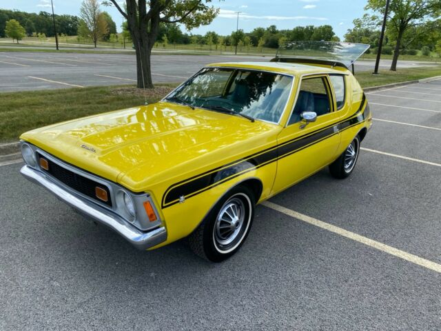 1970 AMC Gremlin (Yellow/LEVI Denim)