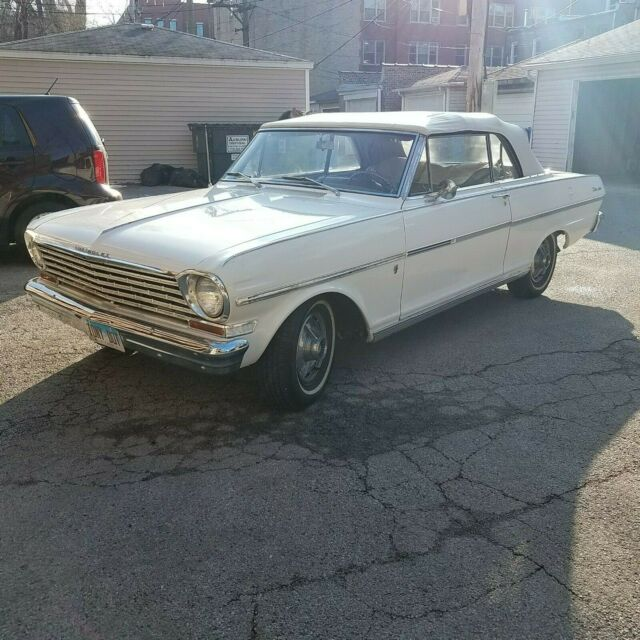 1963 Chevrolet Nova (White/Tan)