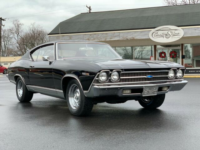 1969 Chevrolet Chevelle (Black/Red)