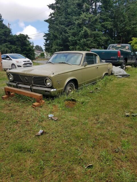 1966 Plymouth Barracuda (Brown/Black)