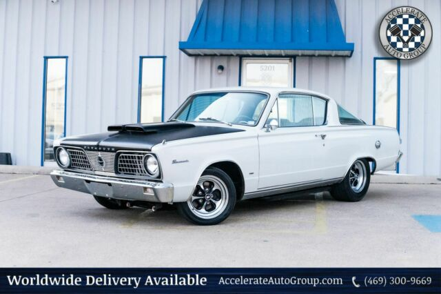 1964 Plymouth Barracuda (White/Black)