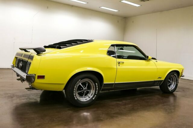 1970 Ford Mustang (Yellow/Black)