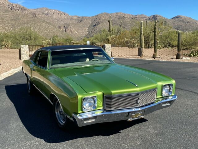 1971 Chevrolet Monte Carlo (Green/Brown)